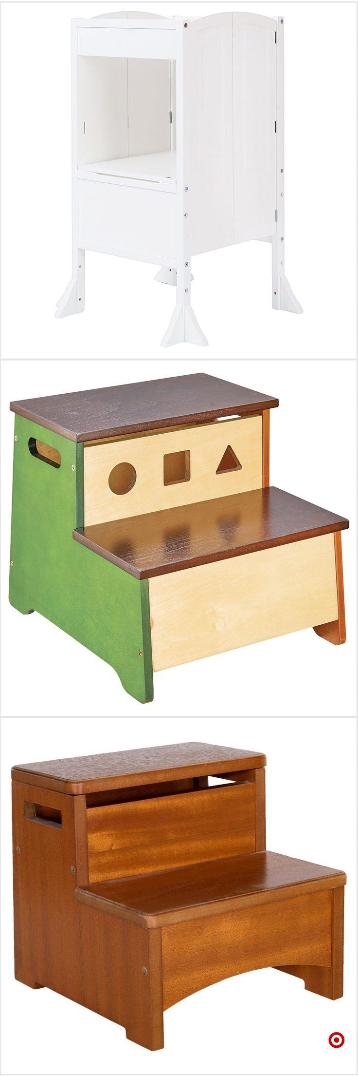 Wooden dollhouse step foot stool wood footstool stepstool furniture - Best 25 Step Stool For Kids Ideas On Pinterest Step Stool For Bed Kids Stool And 3 Step Stool