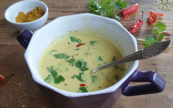 COCONUT CURRY SINGLE SOUP