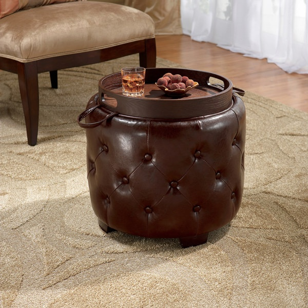 Bombay 174 Windsor Ottoman With Serving Tray Lid For The