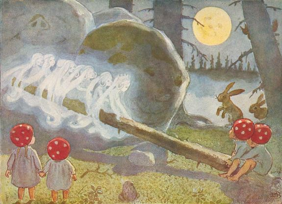 "Elsa Beskow ""Children of the forest"""