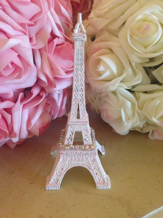paris home decor items small pink eiffel tower decorations decor shabby 11689
