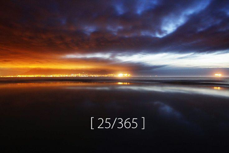Friday, 24 Jan 2014 [ Blouberg sunset ]