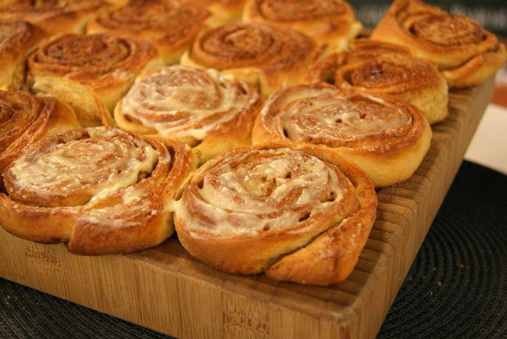 Aprenda a fazer a receita de Pão doce de Canela
