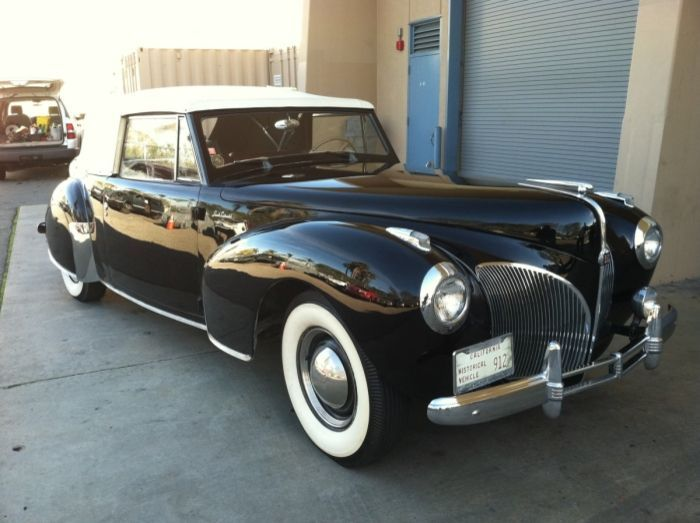 Hemmings Find of the Day – 1941 Lincoln Continental | Hemmings Daily