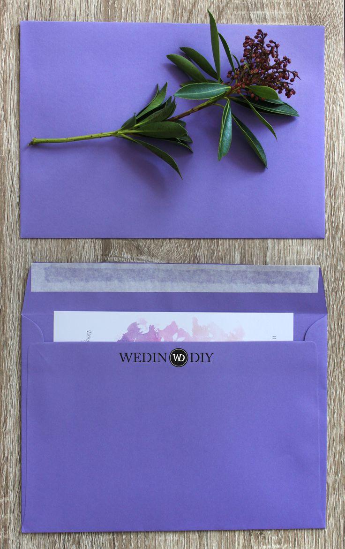 Конверт Violet из Великобритании для свадебных приглашений доступен к заказу на нашем сайте.