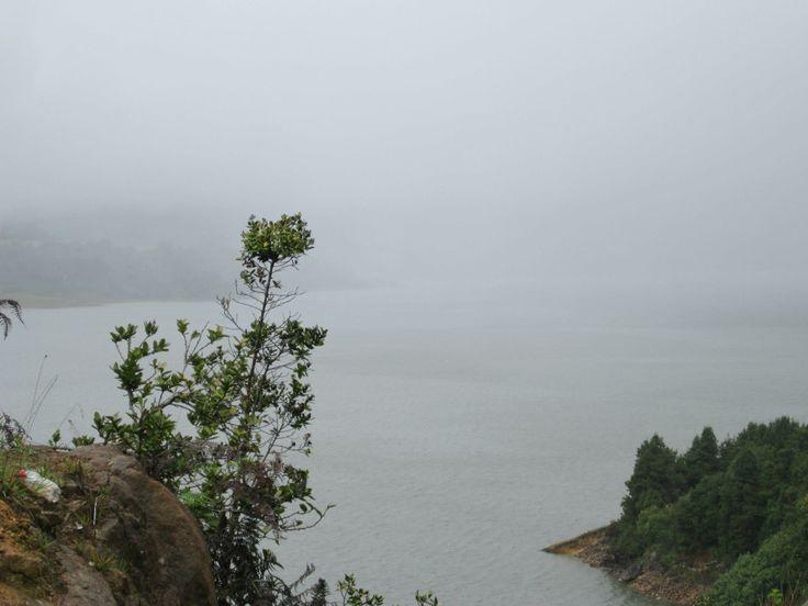 Represa de El Sisga - depto. de Boyacá Colombia