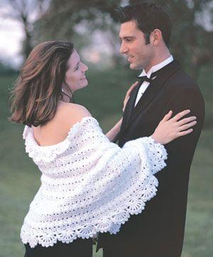 Free crochet pattern - shawl - love it!