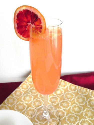 French 75, Blood orange and Holiday cocktails on Pinterest