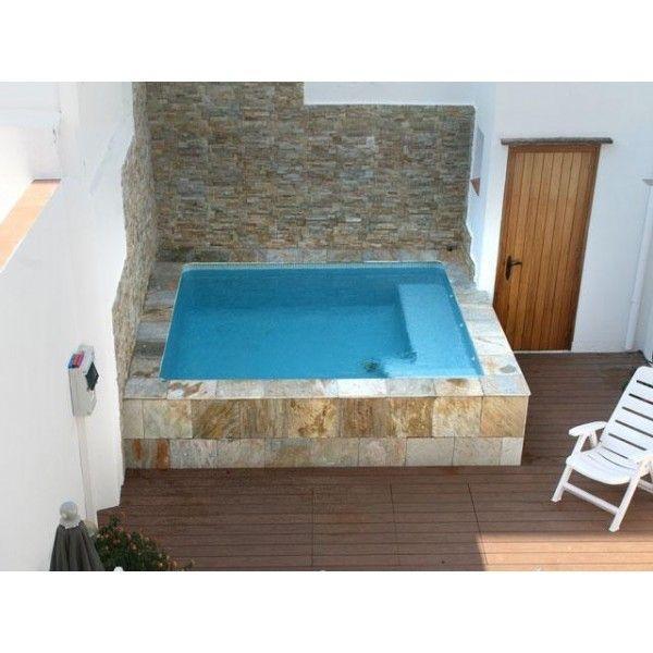 Las 25 mejores ideas sobre piscinas elevadas en pinterest - Mini piscinas prefabricadas ...