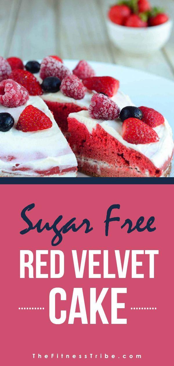 Sugar Free Red Velvet Cake Recipe Red Velvet Cake Sugar Free Cake Velvet Cake