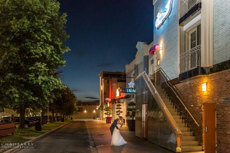 Epic wedding photo at The Retro Suites Hotel.  Elegance, luxury and style.