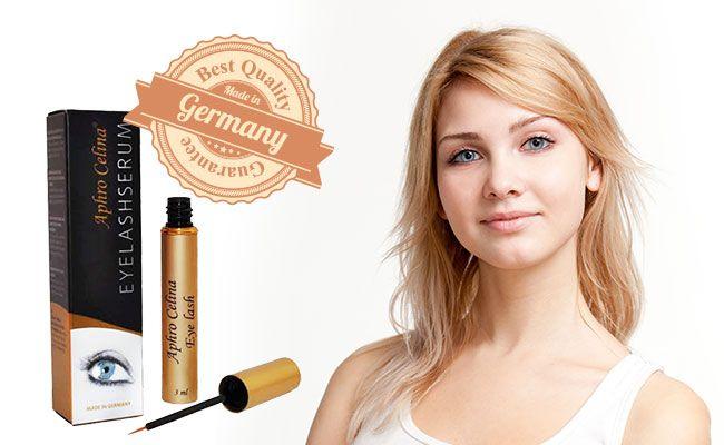 Aphro Celina Eyelash Wimpernserum für längere und vollere Wimpern in 6 - 8 Wochen! http://www.wimpernwuensche.de/aphro-celina-eyelash-wimpernserum.html