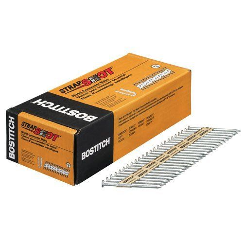 #airtoolsdepot BOSTITCH PT-MC14825G.5M Paper Tape Collated Metal Connector Nails (Pack of 500) by Stanley Tools: We are proud to offer the…