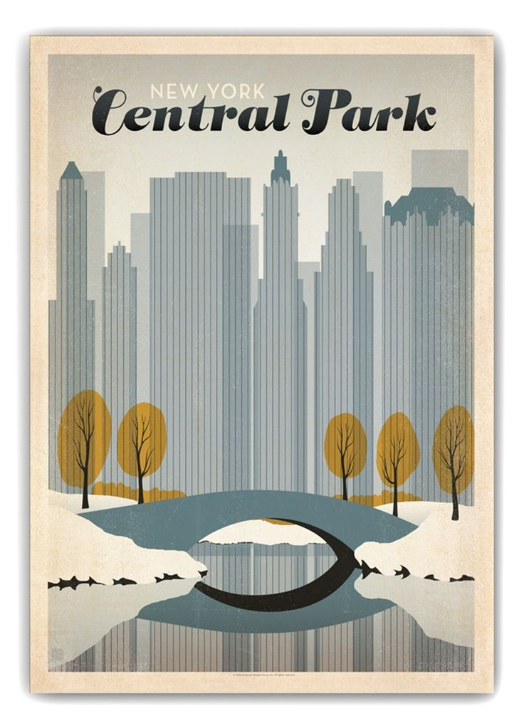 Envie de New York - Central Park                                                                                                                                                      Plus