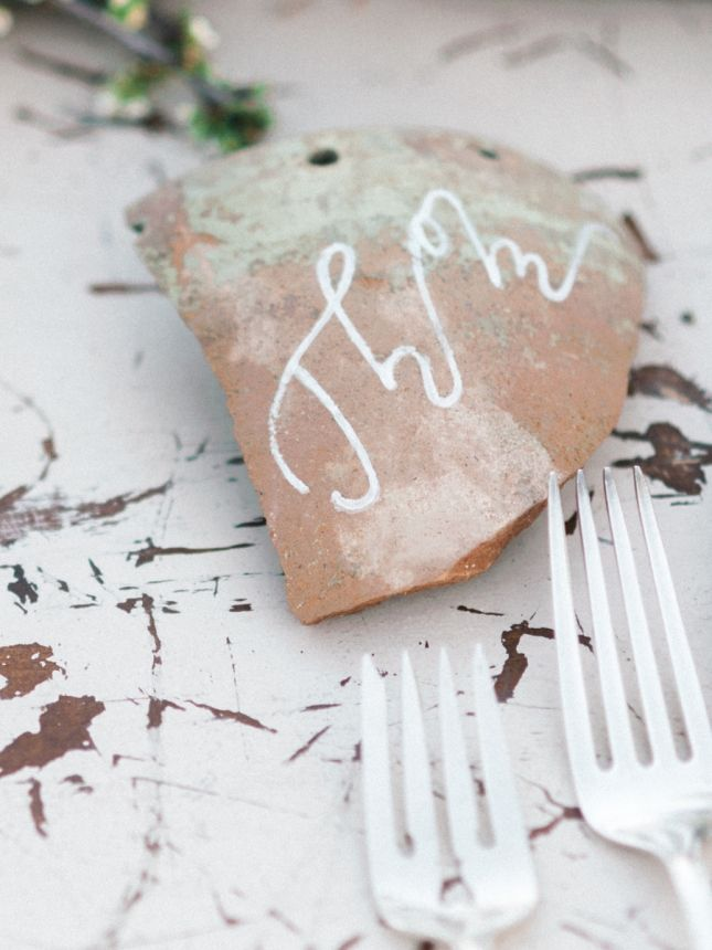 pastel and marbled desert wedding inspiration place