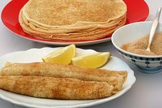 Traditional South African Pannekoek.