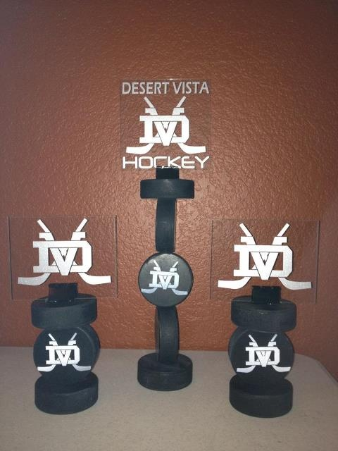 Hockey Center Pieces