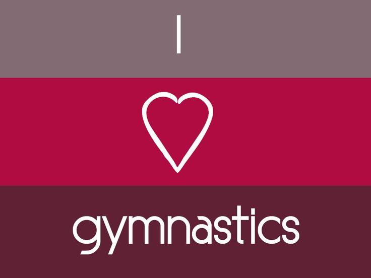 I Heart Gymnastics Desktop Wallpaper 1024x768 Gymnastics