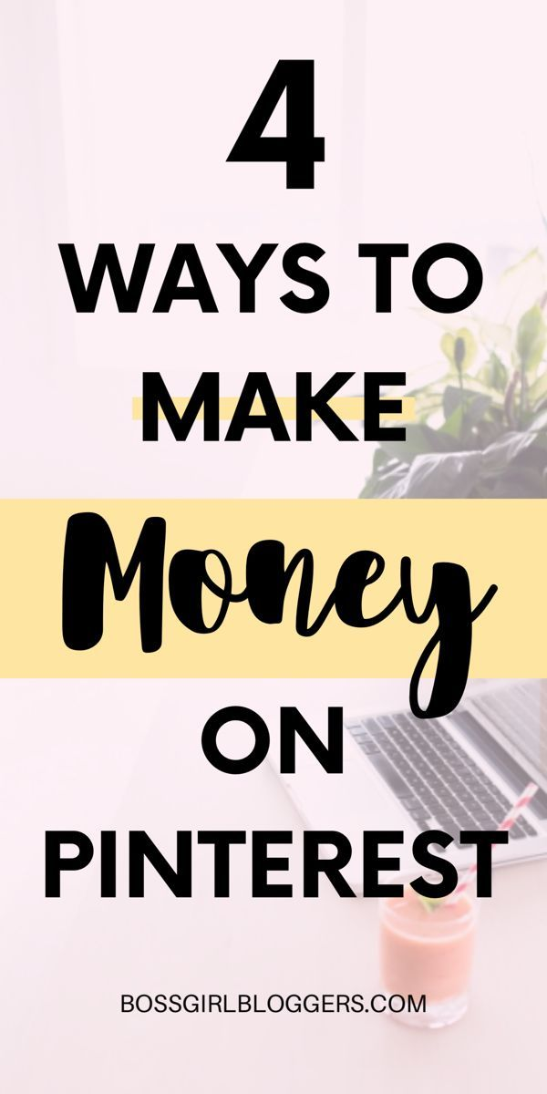 Make Money on Pinterest – 4 Easy ways to make money on Pinterest – Shevy | Blogger + Content Creator | Blogging For Beginners