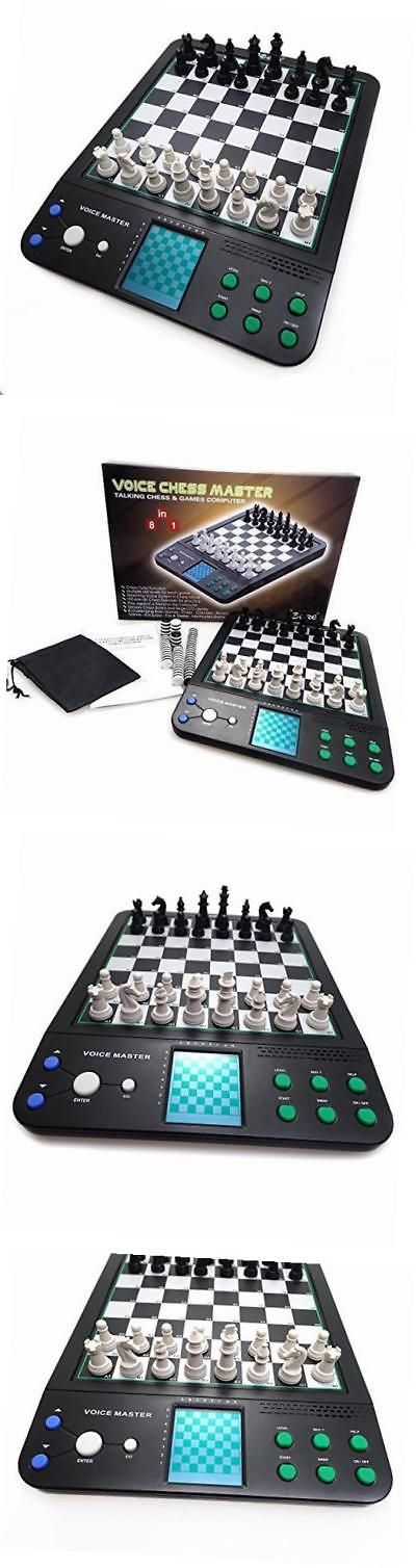 Electronic Chess 155339: Electronic Talking Chess Computer Set, Magnetic Travel Voice Chess -> BUY IT NOW ONLY: $55.59 on eBay!
