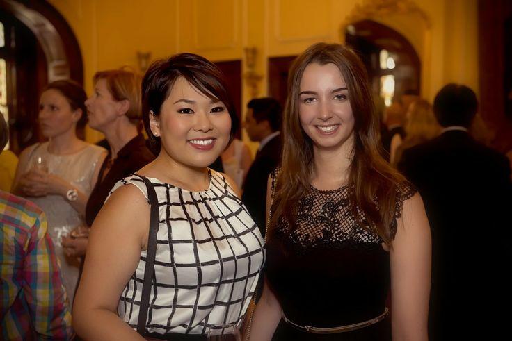 Christina (Student Ambassador Uni of Adelaide) Sandrine Tourneux (Student Experience Officer Uni of Adelaide)