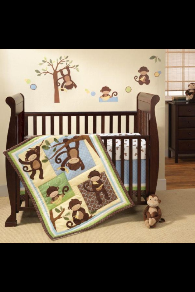 Monkey baby room for a boy!!