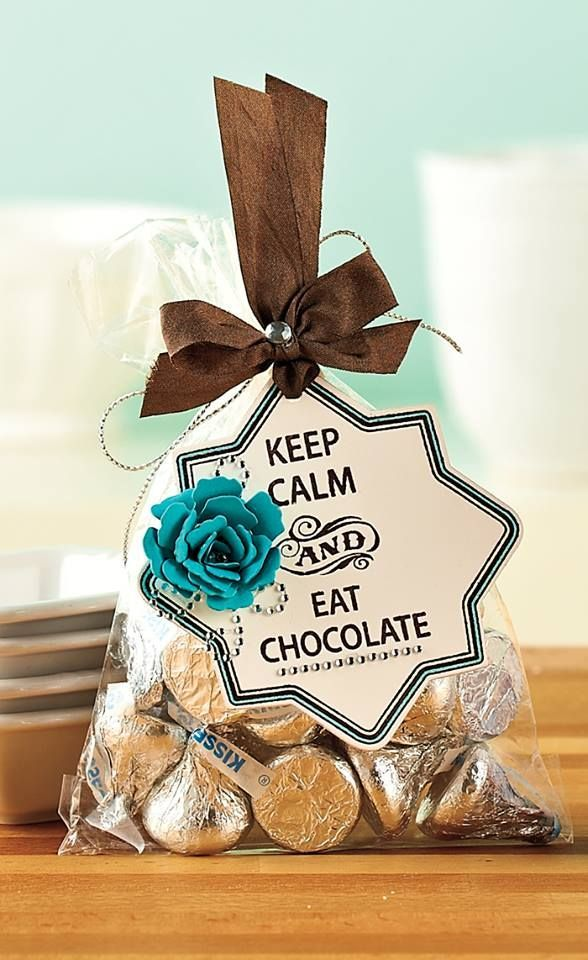 An idea from Creating Keepsakes... it would work for cookies too with just a small word change... Love!!! teacher gifts, gift ideas for teachers
