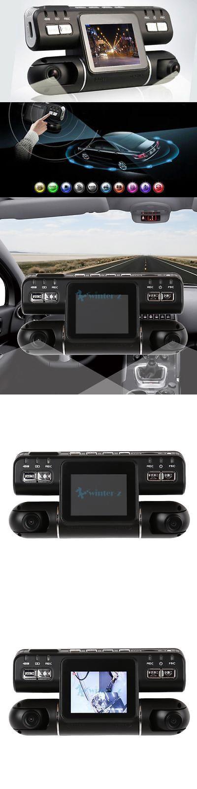 Digital Video Recorders Cards: 360° Full Hd 1080P Dual Lens 2 Car Dvr Camera Video Recorder Dash Cam G-Sensor -> BUY IT NOW ONLY: $50.99 on eBay!
