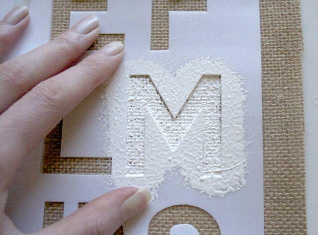 Tutorial: ¡Banderines personalizados con tela arpillera!