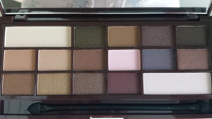 See the whole review on my blog. Make up Revolution I heart Chocolate
