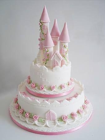 Princess Cake: add princess, knight, & dragon