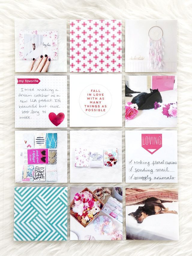 POCKET PAGES™ w/ pops of pink | mambi blog - me & my BIG ideas | Bloglovin'