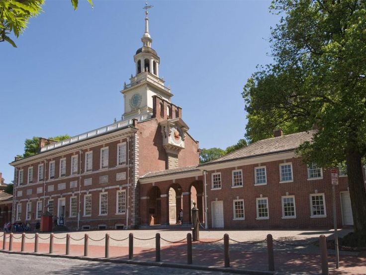 Independence Hall is the site of the signing of the Declaration of Independence and United States Constitution.