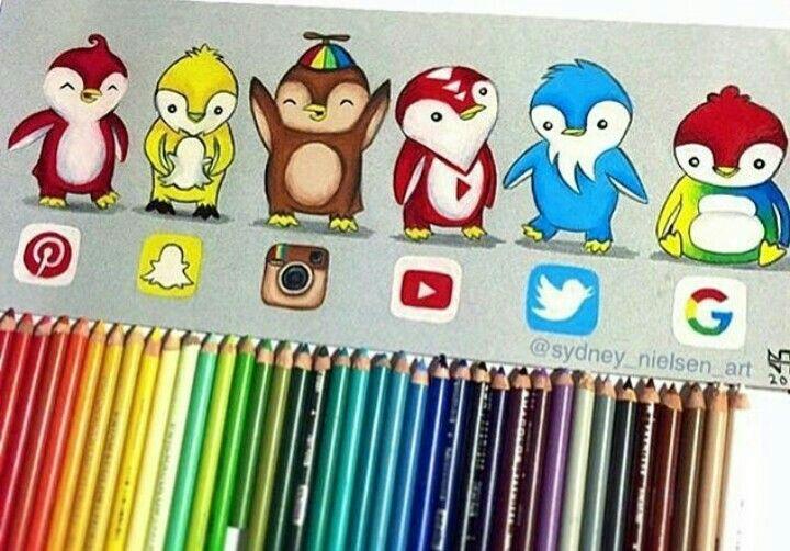 Pingüinitos redes sociales!