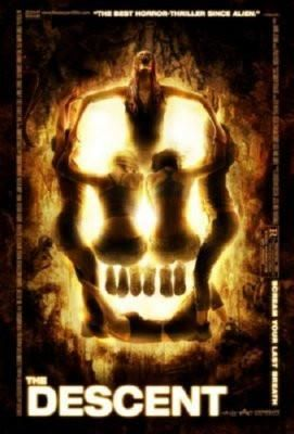 Descent Movie Metal Sign Wall Art 8in x 12in