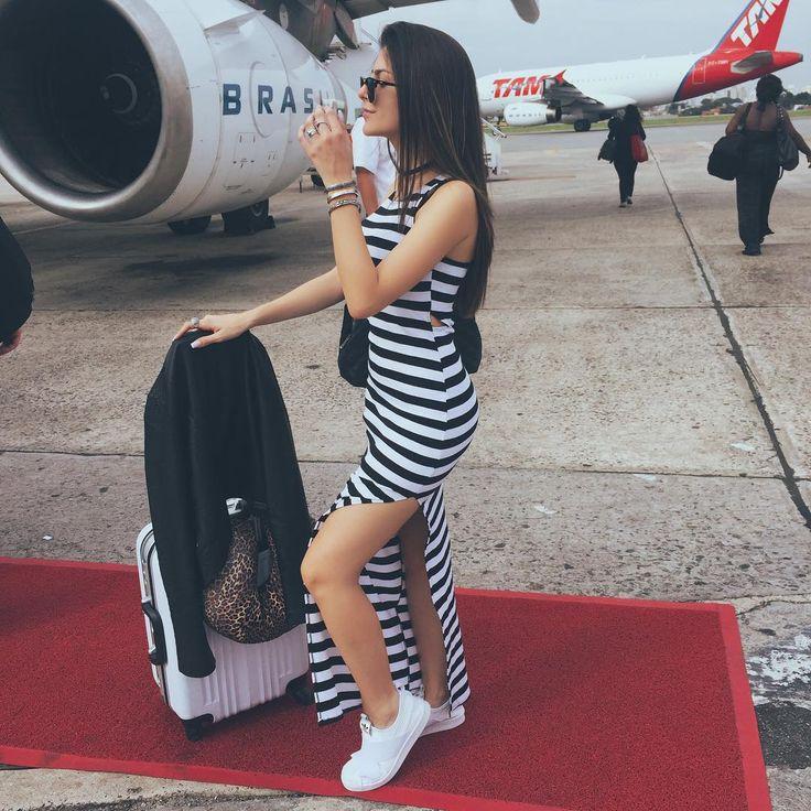 """São Paulo ✈️ Curitiba | Já já tô chegando! Tô sabendo que tá chovendo aí, né? | Look comfy @lojafashioncloset @adidasbrasil"" | Nah Cardoso | Pinterest | Fashion, Outfits and Womens fashion"