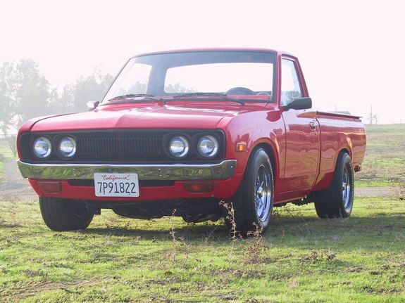 992cedfab93e98 1973 Datsun Pickup (perfect stance) will always remind me of pops ...