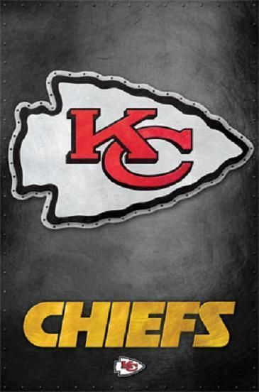 Kansas City Chiefs Team Logo Nfl Football Official Poster 22x34 Kansas City Chiefs Logo Kansas City Chiefs Chiefs Wallpaper
