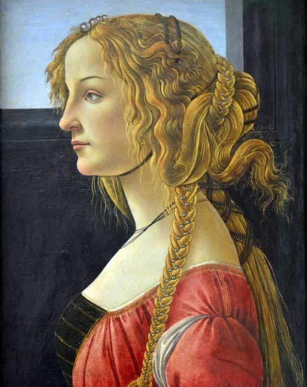 Simonetta Vespucci, Botticelli