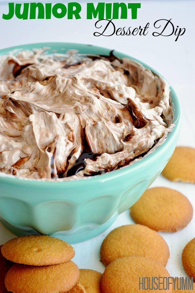 Junior Mint Dessert Dip  on MyRecipeMagic.com