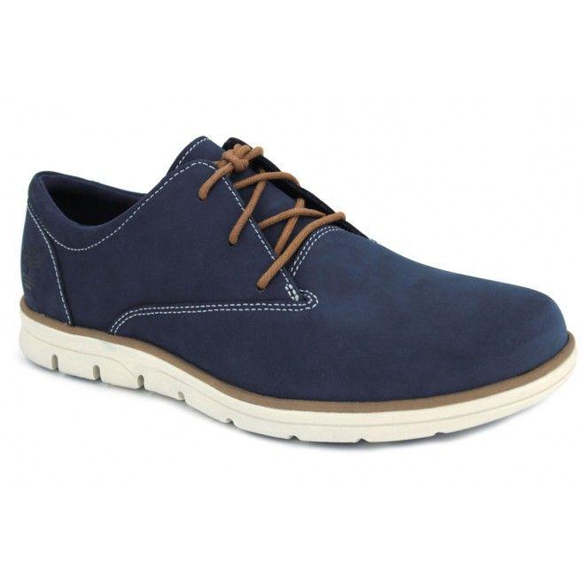 Timberland Bradstreet A1K2J y A1K5D Zapatos Oxford de cordones de estilo casual para hombres hechos con pieles. Puntera redondeada con buena horma. Calce fácil y rápido y sistema de sujeción mediante cordones textiles. Son cómodos para caminar con su plantilla con sistema SensorFlex.