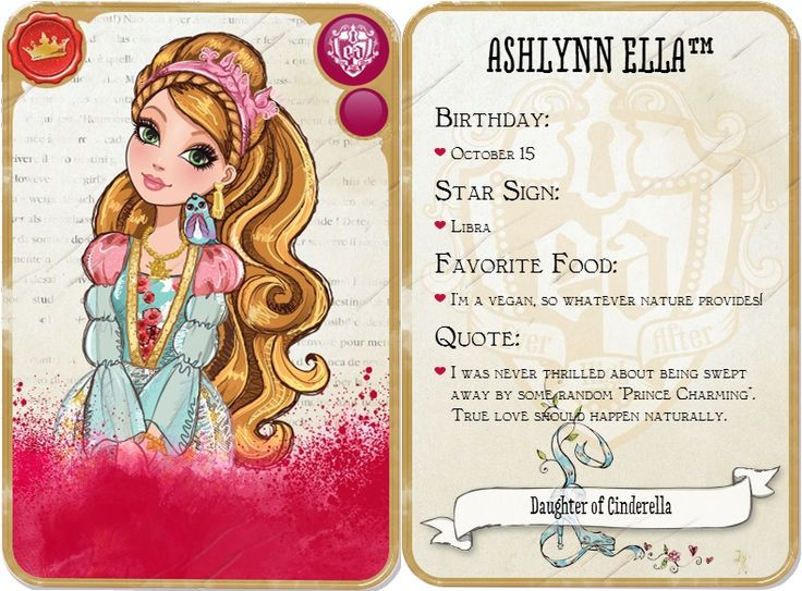 17 best ideas about Ever After High Names on Pinterest ...