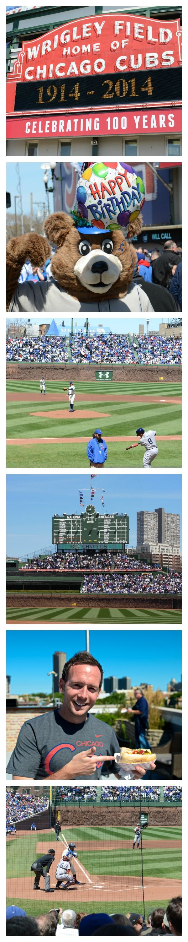 Wrigley Field celebrates 100 year birthday! We were there!  Go Chicago Cubs! Live near Wrigley Field! #chicagoapartments #chicagocubs