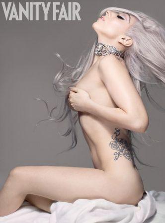 nude lady gaga
