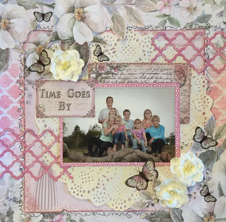 A layout by Kelly-ann Oosterbeek made using the Magnolia Lane Collection created by Sue Smyth. www.kellyanno.com