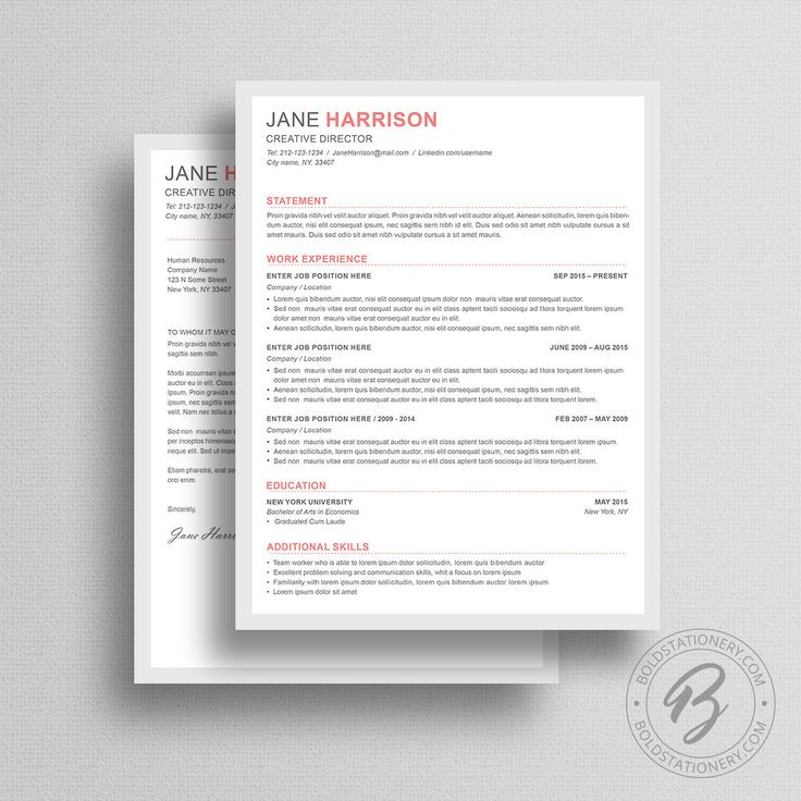 10 best Resume Templates / CV Templates images on Pinterest | Resume ...