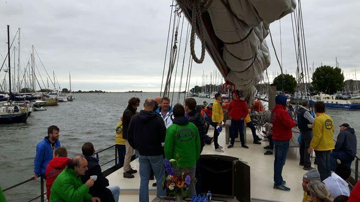 Teambuilding op zeilboot en forteila d Pampus. https://www.advance-events.nl/Teambuilding-op-pampus