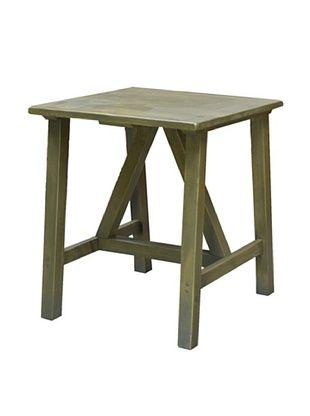 65% OFF 2 Day Designs Pine Creek End Table, Fern