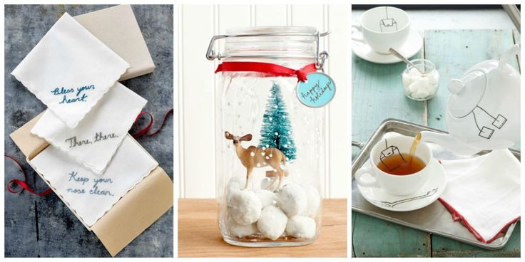 Impress your friends and loved ones with your crafting skills this festive season by gifting them with interesting and unique presents that are sure to make them smile.