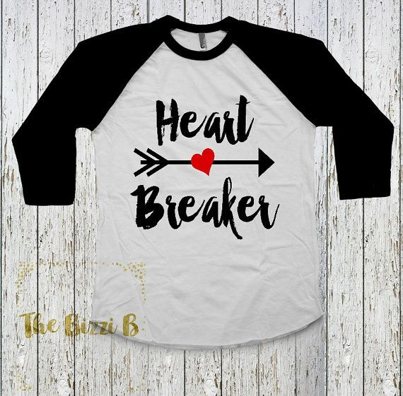 Hey, I found this really awesome Etsy listing at https://www.etsy.com/listing/261938332/heart-breaker-boys-raglan-valentines-day